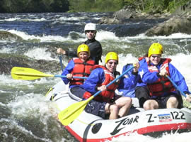 White Water Rafting on the Deerfield River, Vermont