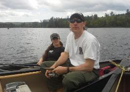 Ron and Dee Fournier of Orion Outfitters