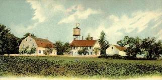Canterbury Shaker Village, from a 1906 Postcard