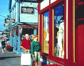 Shopping in Freeport, Maine