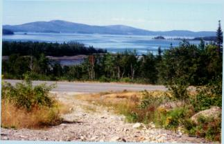 Schoodic Scenic Byway in Maine